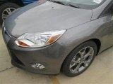 2014 Sterling Gray Ford Focus SE Hatchback #98637096