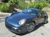2012 Dark Blue Metallic Porsche 911 Turbo Coupe #98637640