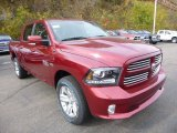 2015 Ram 1500 Deep Cherry Red Crystal Pearl