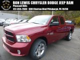 2015 Deep Cherry Red Crystal Pearl Ram 1500 Express Quad Cab 4x4 #98637334