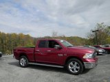 2014 Deep Cherry Red Crystal Pearl Ram 1500 SLT Quad Cab 4x4 #98637596