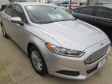 2015 Ingot Silver Metallic Ford Fusion S #98637118