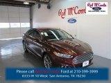 2015 Bronze Fire Metallic Ford Fusion Titanium #98637106
