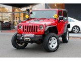 2009 Jeep Wrangler Flame Red
