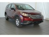2012 Basque Red Pearl II Honda CR-V LX #98637021