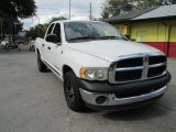 2003 Bright White Dodge Ram 1500 ST Quad Cab #98682269
