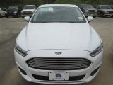 2015 Oxford White Ford Fusion S #98682010