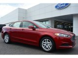 2015 Ruby Red Metallic Ford Fusion SE #98682088