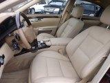 2013 Mercedes-Benz S 550 4Matic Sedan Cashmere/Savanna Interior