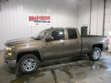 2015 Brownstone Metallic Chevrolet Silverado 1500 LT Double Cab 4x4 #98682501