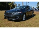 2015 Guard Metallic Ford Fusion Hybrid SE #98682341