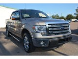 2013 Pale Adobe Metallic Ford F150 Lariat SuperCrew #98682241