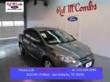 2014 Sterling Gray Ford Focus S Sedan #98681987