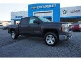 2015 Tungsten Metallic Chevrolet Silverado 1500 LT Crew Cab #98682217