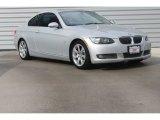 2007 Titanium Silver Metallic BMW 3 Series 335i Coupe #98682443