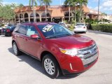 2014 Ruby Red Ford Edge Limited #98725091