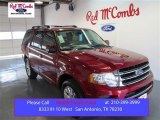 2015 Ruby Red Metallic Ford Expedition Limited #98725000