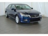 2013 Obsidian Blue Pearl Honda Accord EX-L V6 Sedan #98724924