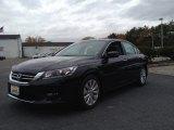 2014 Crystal Black Pearl Honda Accord EX Sedan #98725482