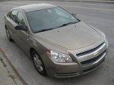 2008 Amber Bronze Metallic Chevrolet Malibu LS Sedan #98725436