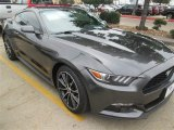 2015 Magnetic Metallic Ford Mustang EcoBoost Coupe #98725016