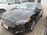 2015 Tuxedo Black Metallic Ford Fusion Titanium #98725013
