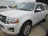 2015 White Platinum Metallic Tri-Coat Ford Expedition EL Limited #98725012