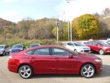 2015 Ruby Red Metallic Ford Fusion SE #98725096