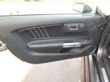 2015 Ford Mustang EcoBoost Premium Coupe Door Panel