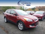 2015 Sunset Metallic Ford Escape Titanium 4WD #98766958