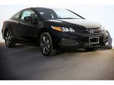 2015 Crystal Black Pearl Honda Civic EX Coupe #98766997