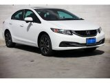 2015 Taffeta White Honda Civic EX Sedan #98766994