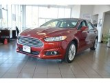2015 Ruby Red Metallic Ford Fusion SE #98767091