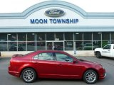 2011 Red Candy Metallic Ford Fusion SEL #98789196