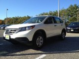 2014 White Diamond Pearl Honda CR-V LX AWD #98789405