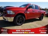 2015 Flame Red Ram 1500 Outdoorsman Crew Cab 4x4 #98789131
