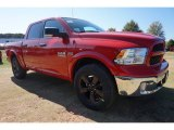 2015 Ram 1500 Flame Red