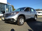 2014 Alabaster Silver Metallic Honda CR-V LX AWD #98789403