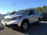 2014 Alabaster Silver Metallic Honda CR-V LX AWD #98789402