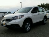 2014 White Diamond Pearl Honda CR-V LX AWD #98815904