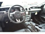 2015 Ford Mustang GT Premium Coupe 50 Years Raven Black Interior