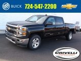 2015 Black Chevrolet Silverado 1500 LT Z71 Crew Cab 4x4 #98815667