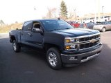 Black Chevrolet Silverado 1500 in 2015