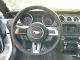 2015 Ford Mustang EcoBoost Coupe Steering Wheel