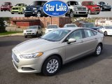 2015 Tectonic Silver Metallic Ford Fusion S #98815812