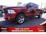 2014 Deep Cherry Red Crystal Pearl Ram 1500 Express Quad Cab #98815502