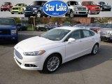 2015 White Platinum Metallic Ford Fusion SE #98815811
