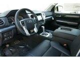 2015 Toyota Tundra Platinum CrewMax 4x4 Black Interior