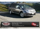 2015 Predawn Gray Mica Toyota Sienna Limited AWD #98815332
