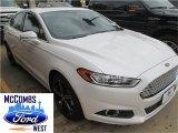 2015 White Platinum Metallic Ford Fusion SE #98854289